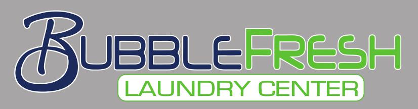 Bubble Fresh Building Sign Logo